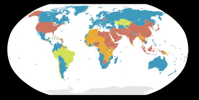 Slavery around the world