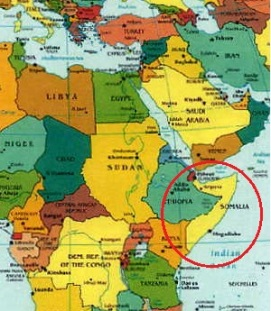Somalia Map Locator