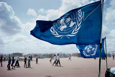 UN refugee camp Somalia